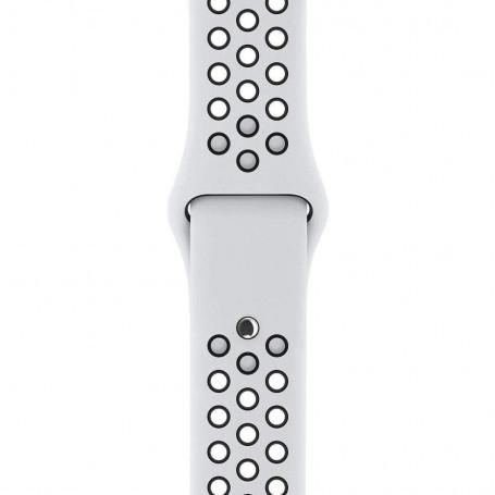 Curea Sport Perforata, compatibila Apple Watch 1/2/3/4, Silicon, 42mm/44mm, Alb / Negru la pret imbatabile de 44,99LEI , intra pe PrimeShop.ro.ro si convinge-te singur