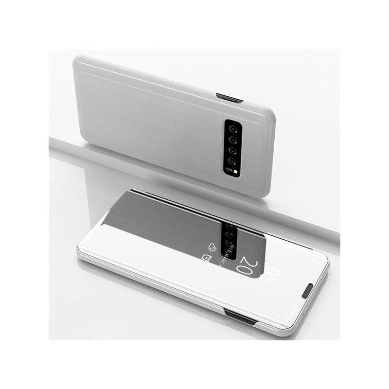 Husa Telefon Samsung S10 Flip Mirror Stand Clear View - 2
