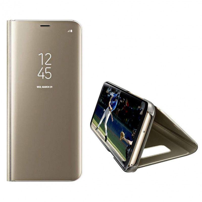 Husa Telefon Samsung S10+ Plus Flip Mirror Stand Clear View