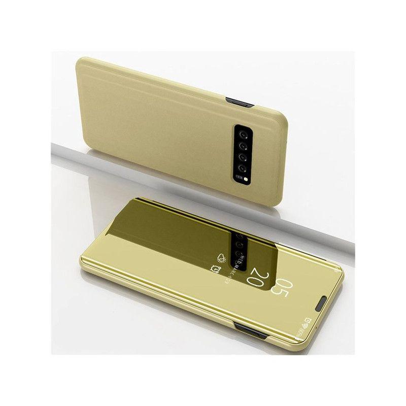 Husa Telefon Samsung S10+ Plus Flip Mirror Stand Clear View - 2