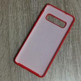 Husa din silicon pentru Samsung Galaxy S10 cu perforatii si interior din microfibra  - 4