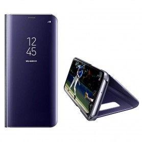 Husa Telefon Huawei Mate 20 Pro Flip Mirror Stand Clear View  - 2