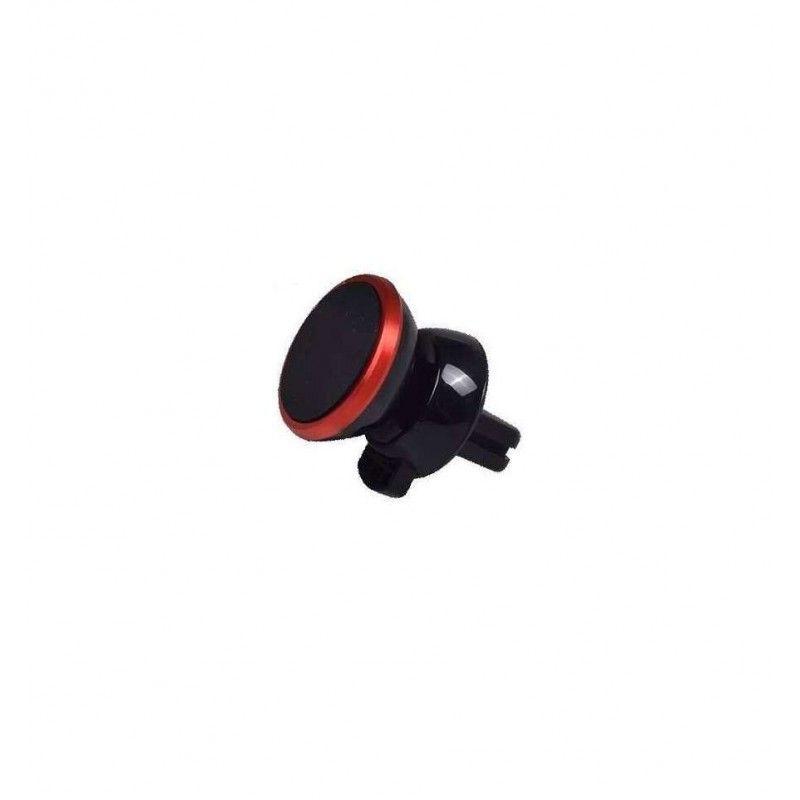 Suport Auto Magnetic pentru Telefon sau Tableta cu Fixare in Grila de Ventilatie, Rotire 360 Grade  - 5
