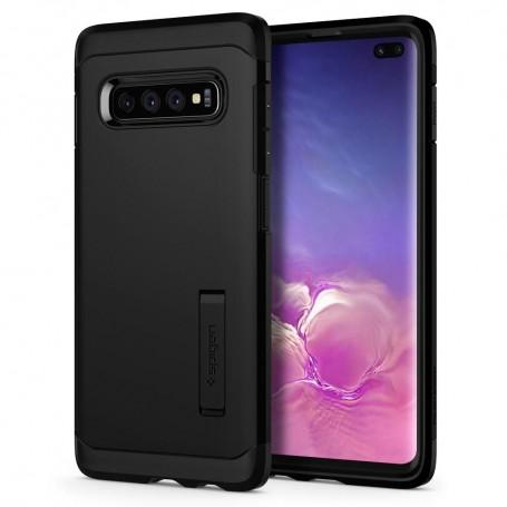 Husa Telefon Samsung S10+ Plus, Spigen Tough Armor, Negru la pret imbatabile de 94,00LEI , intra pe PrimeShop.ro.ro si convinge-te singur