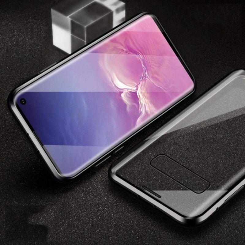Husa Magnetica 360 cu sticla fata spate, pentru Samsung Galaxy S10 - 2