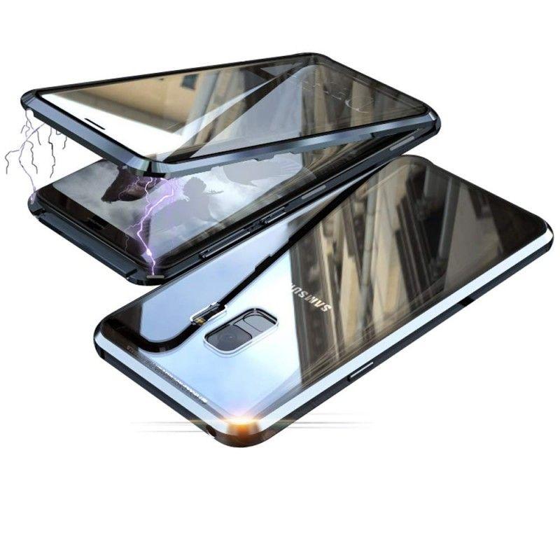 Husa Magnetica 360 cu sticla fata spate, pentru Samsung Galaxy S9+ Plus - 2