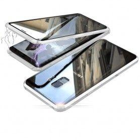 Husa Magnetica 360 cu sticla fata spate, pentru Samsung Galaxy S9  - 4