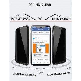 Husa iPhone X / XS Magnetica 360 fata spate Privacy Anti Spionaj  - 3