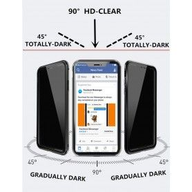 Husa iPhone 7 / 8 Magnetica 360 fata spate Privacy Anti Spionaj  - 3