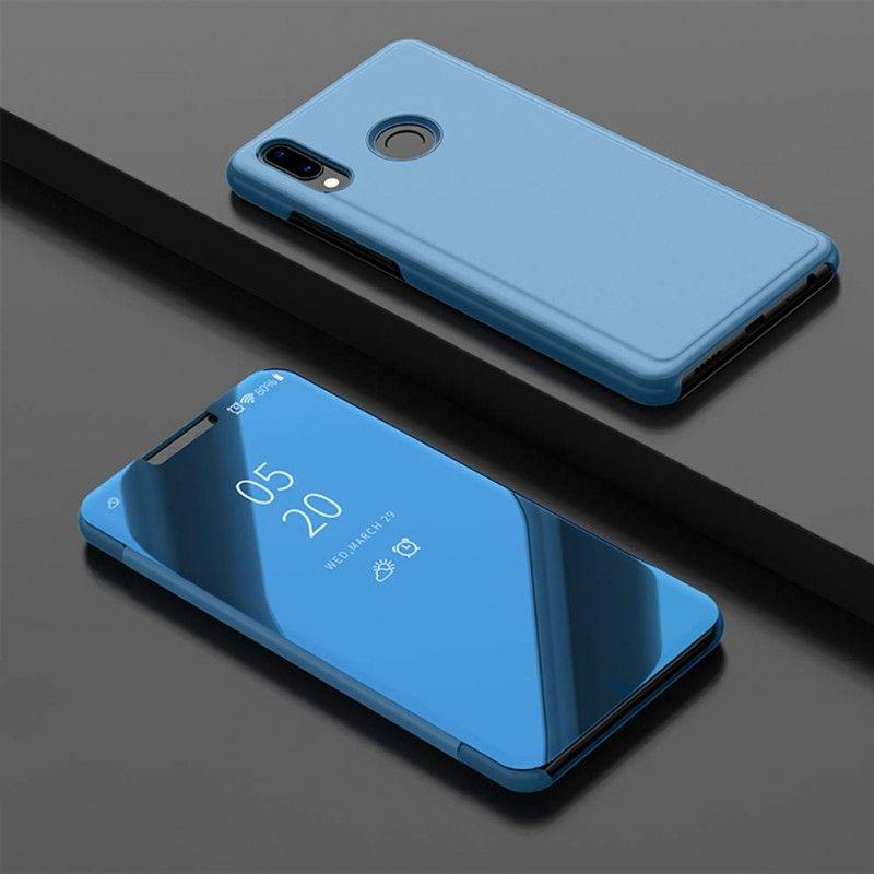 Husa Telefon Huawei P Smart Z / Y9 Prime (2019) Flip Mirror Stand Clear View - 2