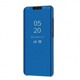 Husa Telefon Huawei P Smart Z / Y9 Prime (2019) Flip Mirror Stand Clear View  - 4