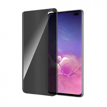 Folie protectie Samsung S10+ Plus, sticla securizata, Privacy Anti Spionaj