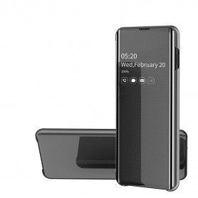 Husa Samsung S9+ Plus - Noul Design Flip Mirror Clear View Tip Carte  - 1