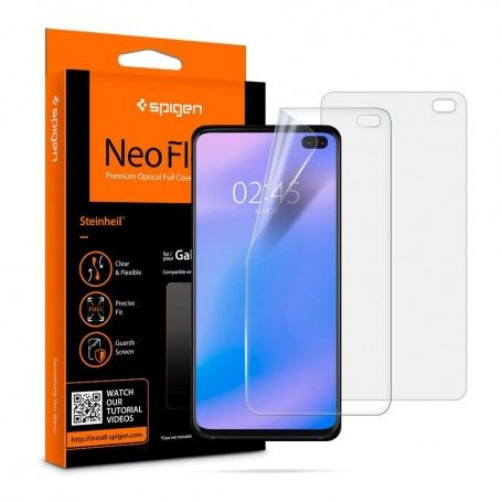 Folie Protectie Ecran Spigen Neo Flex Hd Galaxy S10+ Plus la pret imbatabile de 66,90LEI , intra pe PrimeShop.ro.ro si convinge-te singur