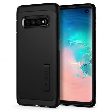 Husa Galaxy S10 Spigen Tough Armor Black
