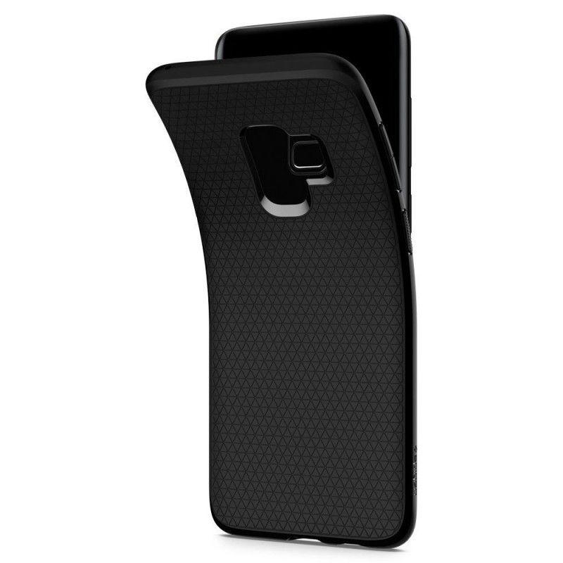 Husa Galaxy S9 Spigen Liquid Air Matte Black - 2