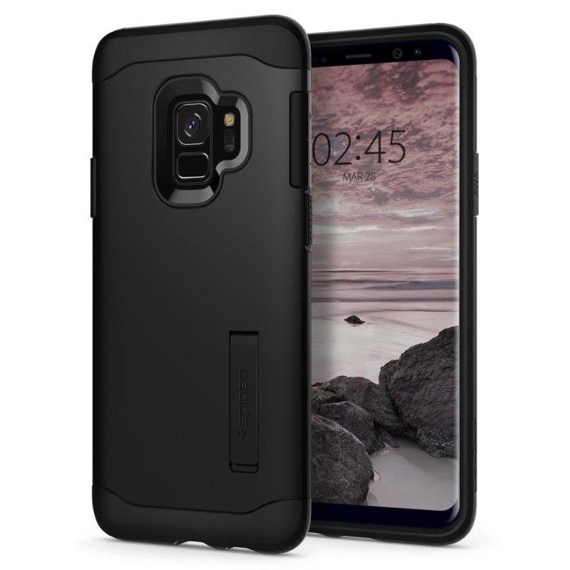 Husa Galaxy S9 Spigen Slim Armor Black Spigen - 1