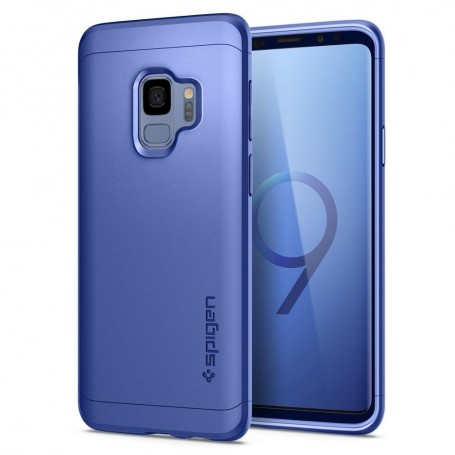 Husa 360 Galaxy S9 Spigen Thin Fit Coral Blue