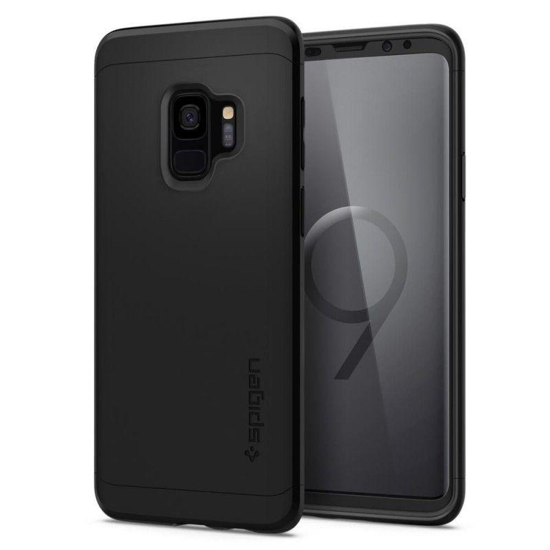 Husa 360 Galaxy S9 Spigen Thin Fit Black Spigen - 1