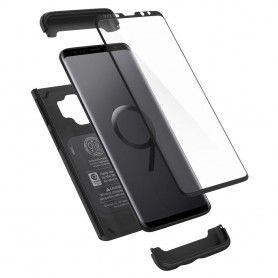 Husa 360 Galaxy S9 Spigen Thin Fit Black Spigen - 3
