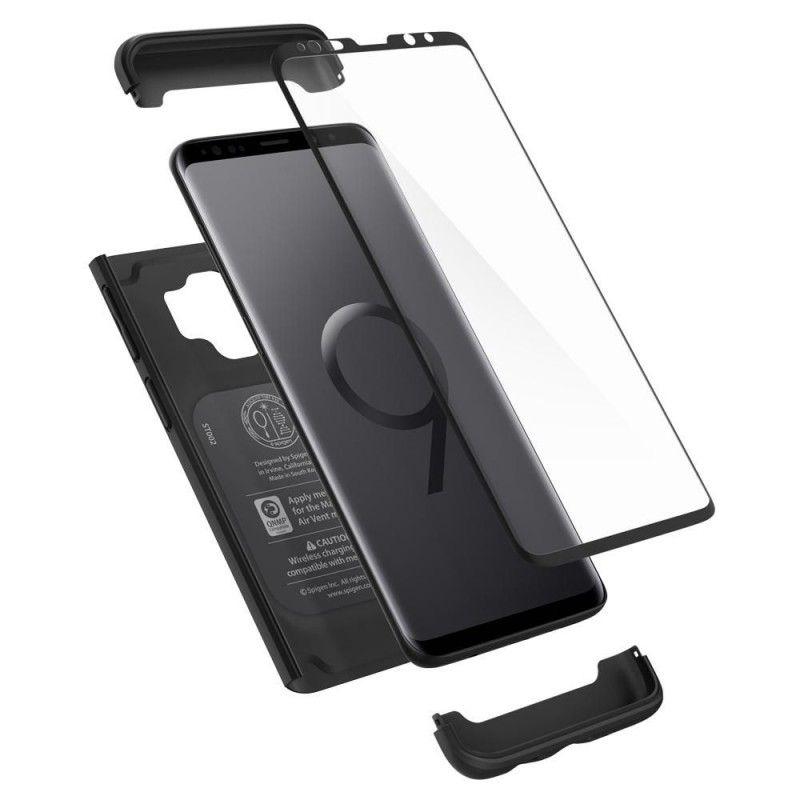 Husa 360 Galaxy S9 Spigen Thin Fit Black - 2