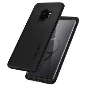 Husa 360 Galaxy S9 Spigen Thin Fit Black Spigen - 4