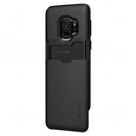 Husa Galaxy S9 Spigen Slim Armor CS Black Spigen - 3