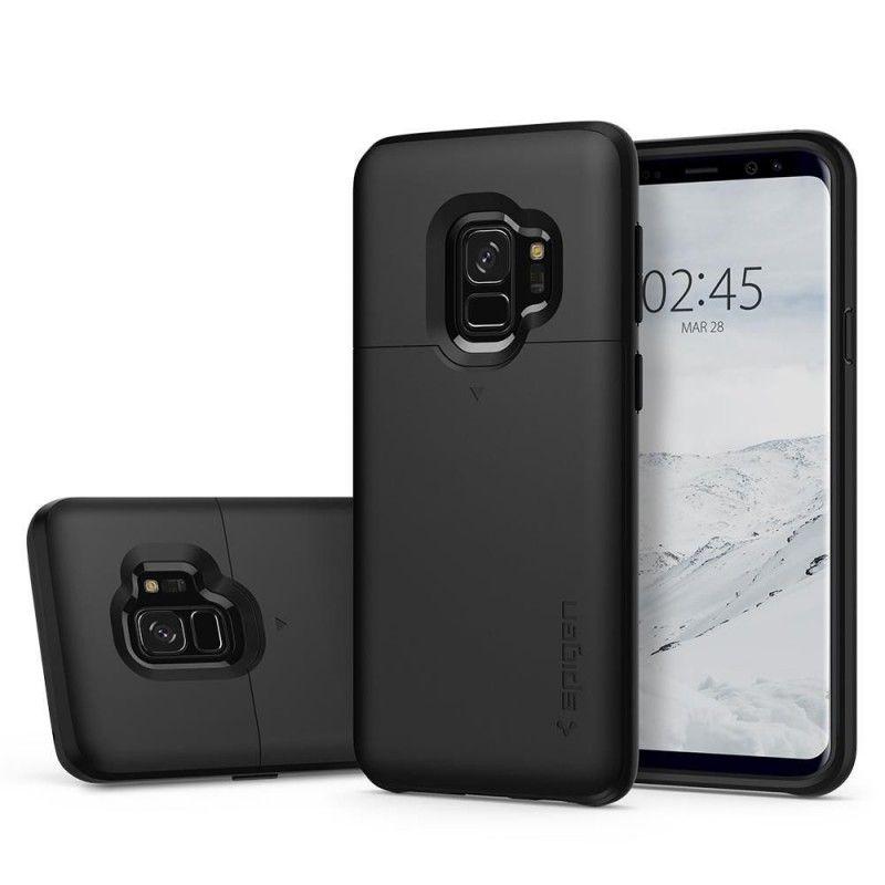 Husa Galaxy S9 Spigen Slim Armor CS Black - 2