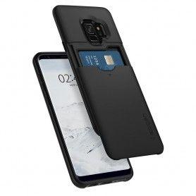 Husa Galaxy S9 Spigen Slim Armor CS Black Spigen - 7