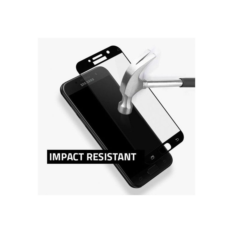 Folie Protectie Ecran Galaxy S9 Mocolo Tg+ 3D Case Friendly Black - 2