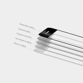 Folie Protectie Ecran Galaxy S9+ Plus Mocolo Tg+ 3D Case Friendly Black Mocolo - 2