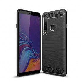 Husa Galaxy A9 2018 Tech-protect Tpucarbon Black Tech-Protect - 1
