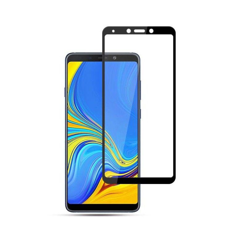 Folie Protectie Ecran Galaxy A9 2018 Mocolo Tg+ 3D Black