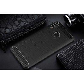 Husa Huawei P Smart (2019) Tech-protect Tpucarbon Black Tech-Protect - 3