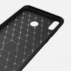 Husa Huawei P Smart (2019) Tech-protect Tpucarbon Black Tech-Protect - 4