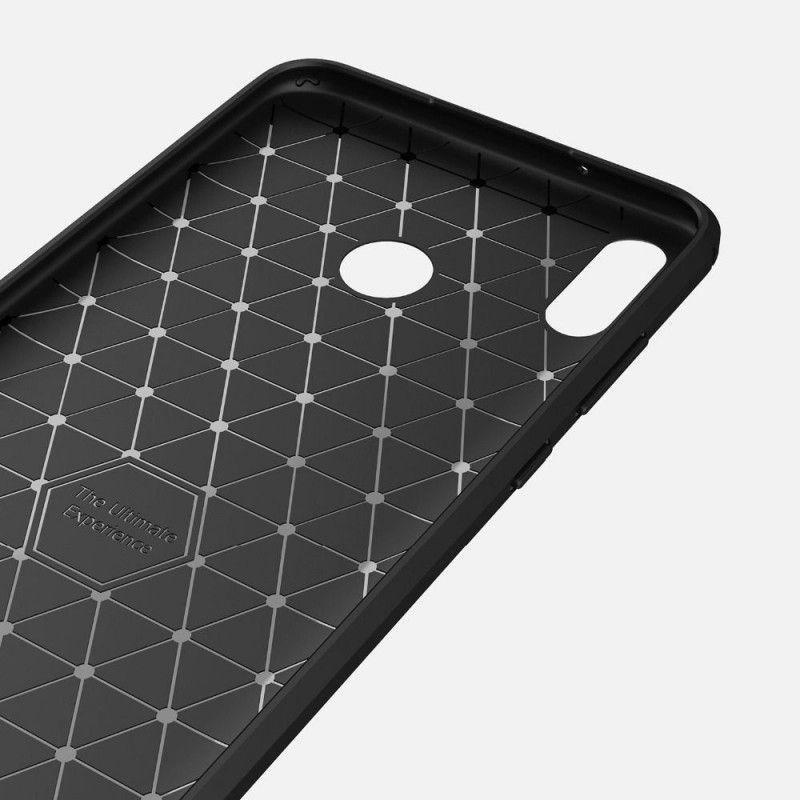 Husa Huawei P Smart (2019) Tech-protect Tpucarbon Black - 2