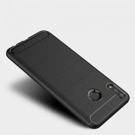 Husa Huawei P Smart (2019) Tech-protect Tpucarbon Black Tech-Protect - 5