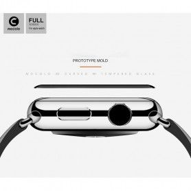 Folie Protectie Ecran Apple Watch 1/2/3 (42mm) Mocolo Tg+ 3D Black Mocolo - 3