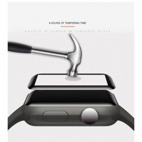 Folie Protectie Ecran Apple Watch 1/2/3 (42mm) Mocolo Tg+ 3D Black Mocolo - 4