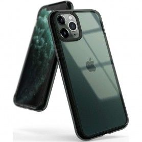 Husa iPhone XI 11 Pro - Ringke Fusion Smoke Black Ringke - 1