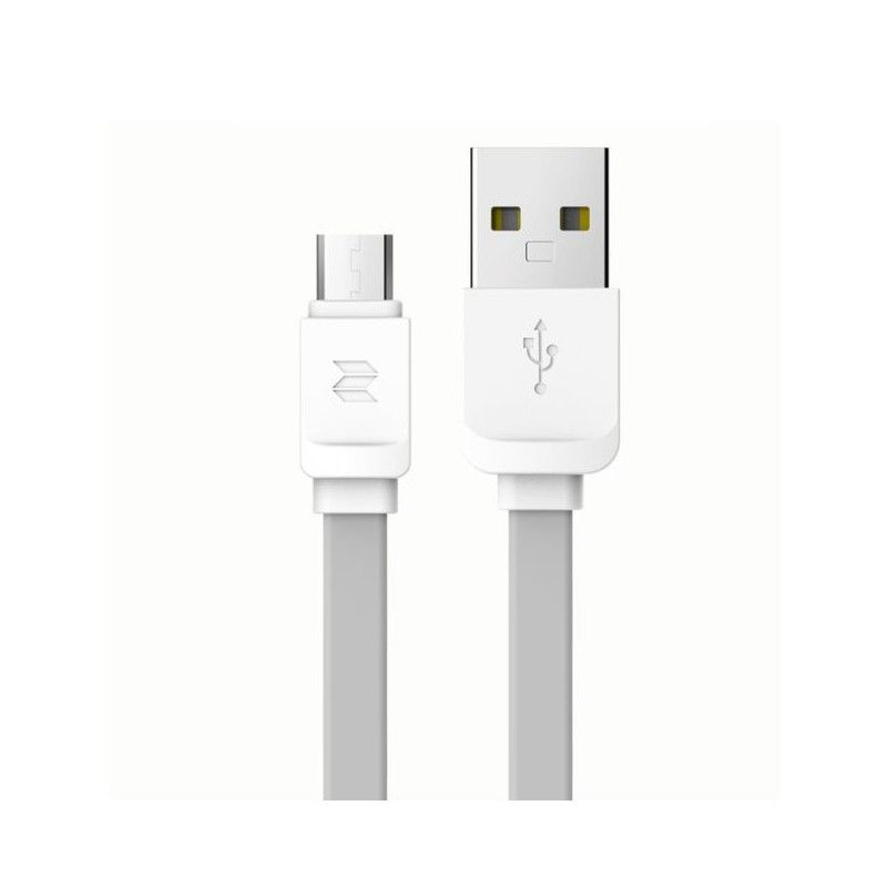 Cablu de date - Rock Micro-usb 100cm Grey Rock - 1