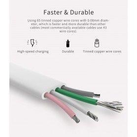 Cablu de date - Rock Micro-usb 100cm Grey Rock - 2