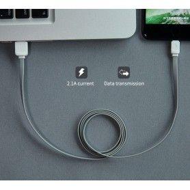 Cablu de date - Rock Micro-usb 100cm Grey Rock - 4