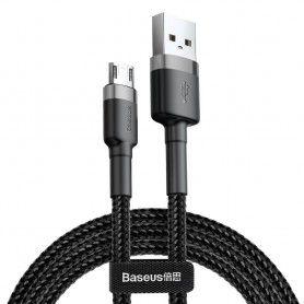 Cablue de date - Baseus Cafule Micro-usb 300cm Grey/black Baseus - 3