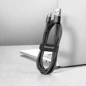 Cablue de date - Baseus Cafule Micro-usb 300cm Grey/black Baseus - 6