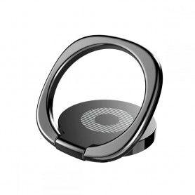 Suport Telefon Universal cu Inel - Baseus Magnetic 360 Phone Ring Black Baseus - 1