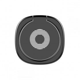 Suport Telefon Universal cu Inel - Baseus Magnetic 360 Phone Ring Black Baseus - 3