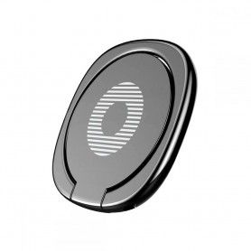 Suport Telefon Universal cu Inel - Baseus Magnetic 360 Phone Ring Black Baseus - 4