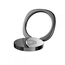 Suport Telefon Universal cu Inel - Baseus Magnetic 360 Phone Ring Black Baseus - 6