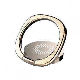 Suport Telefon Universal cu Inel - Baseus Magnetic 360 Phone Ring Gold Baseus - 1
